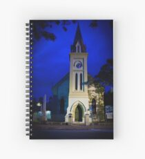 Night Church Spiral Notebook