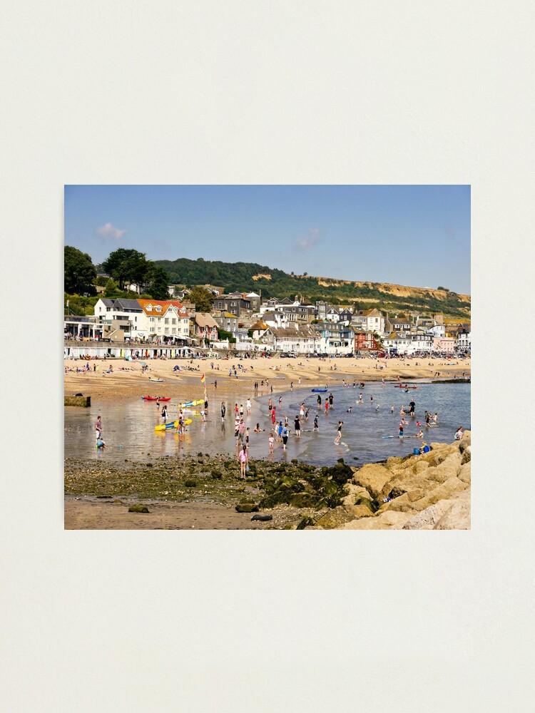 Alternate view of Beach day. Photographic Print