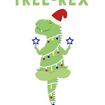 Merry Christmas and Happy Holidays funny Dinosaur shirts by tshirtfandom