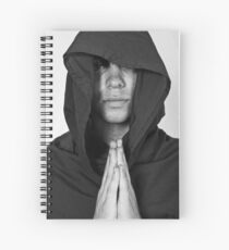 Prayer Time at the Monestary Spiral Notebook