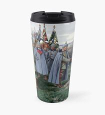 Kaiser Wilhelm II on the Eastern Front, WWI  Travel Mug