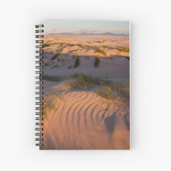 The distant hills Spiral Notebook