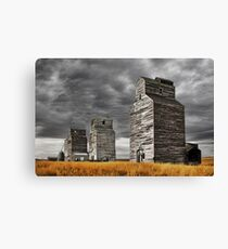 Montana Grain Elevators Canvas Print