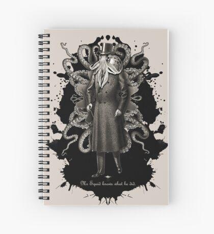 Mr Squid Spiral Notebook
