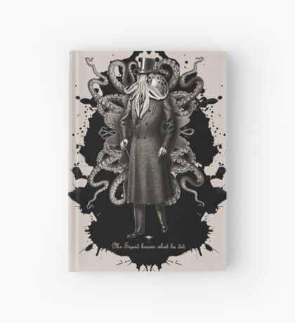 Mr Squid Hardcover Journal