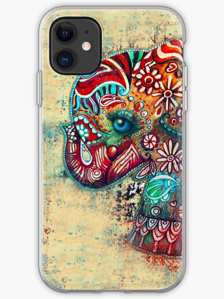 Vintage Elephant iphone 11 case
