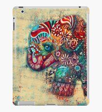 Vintage Elephant TShirt iPad Case/Skin