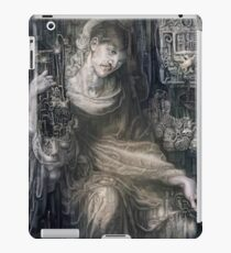 In the Search for Immortality. Rossetti VS H.R. Giger. iPad Case/Skin