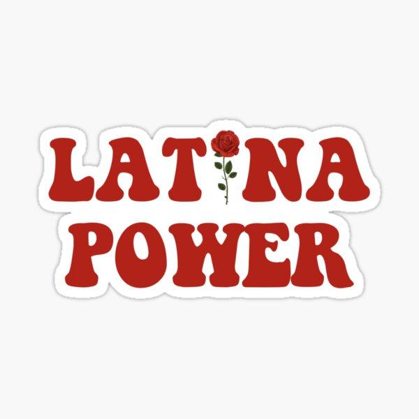 Latina Power Sticker