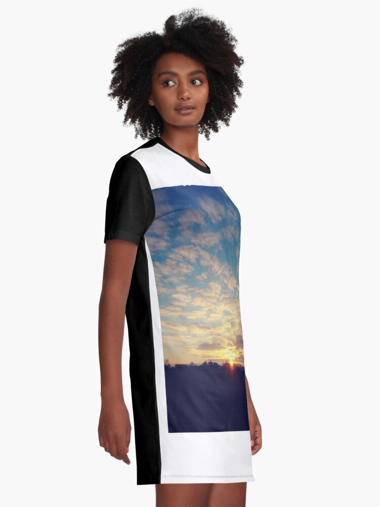 Alternate view of #Zodiac #Calendar,  #Celestial #map, #macrocosm, #miniature, #History of the #World, #seven #heavens, #Earth, #signs, #zodiac, #lunar, #mansions, #model,  #Ptolemaic, #EarthCentered, #Copernicus Graphic T-Shirt Dress