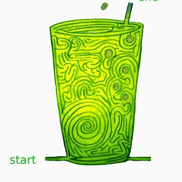 soda pop maze by dekomsyrokcih