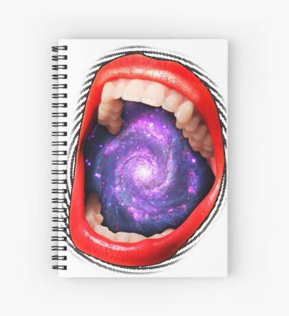 Cosmic Scream I Spiral Notebook
