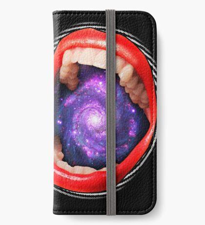 Cosmic Scream I iPhone Wallet