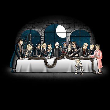 Bad magic dinner by trheewood
