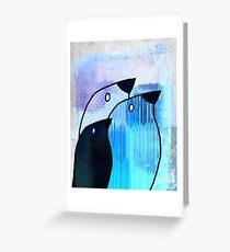 Birdies - n89 Greeting Card