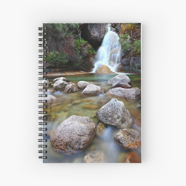 Ladies Bath Falls, Mount Buffalo, Australia Spiral Notebook