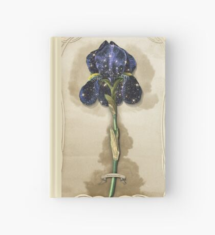 Night Iris Hardcover Journal