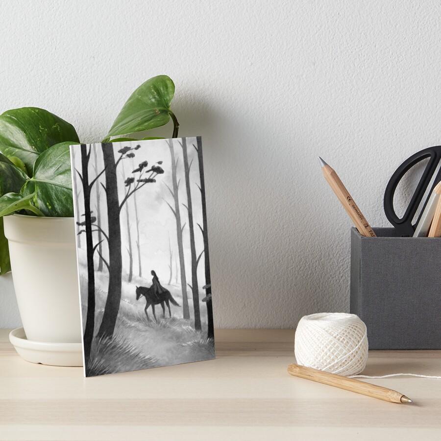 Long Journey Art Board Print