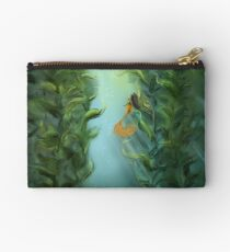 Fathoms Below Zipper Pouch