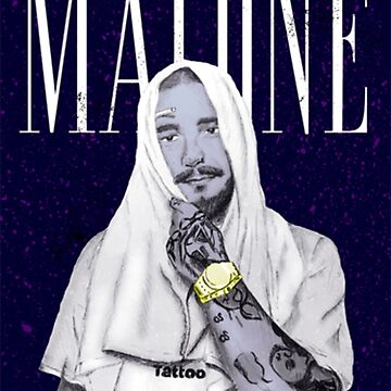 Post Malone Tattoo Poster by Caitlin123123