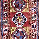 Kazak  Antique South West Caucasus Tribal Rug   by Vicky Brago-Mitchell