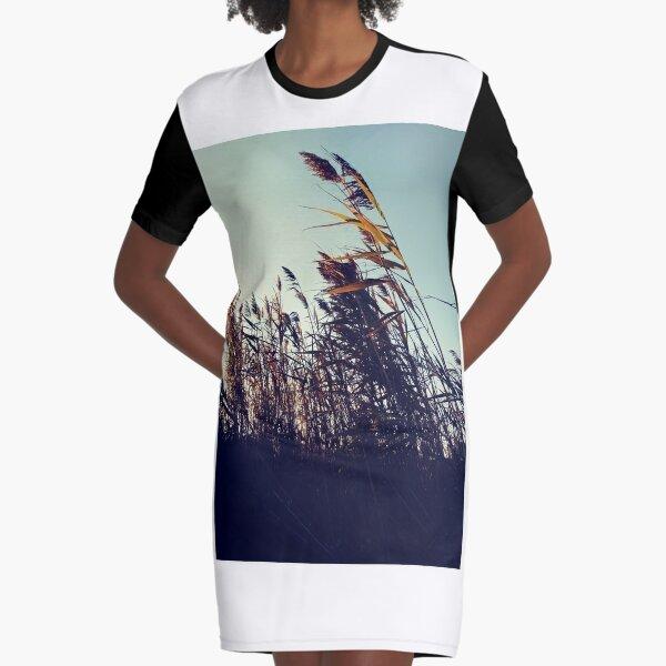 #plant #grassfamily #nature #tree #landscape #outdoors #wood #leaf #sky #horizontal #colorimage #branchplantpart #nopeople #day #lightnaturalphenomenon #colors #sun #sunny #nonurbanscene Graphic T-Shirt Dress