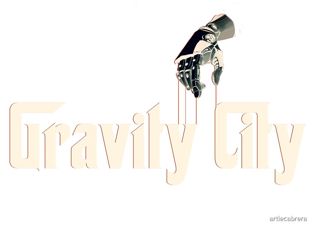 Gravity City - The Family T-shirt Design by artiecabrera