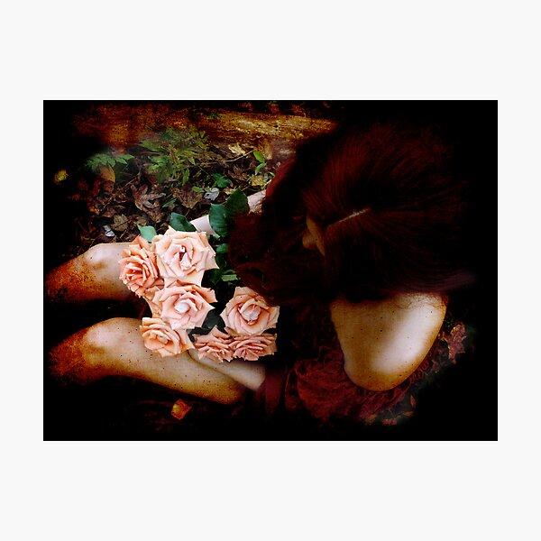 Petals Unfurling Photographic Print