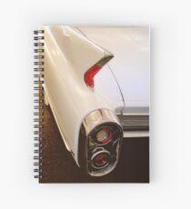 1960 Caddy Fins Spiral Notebook