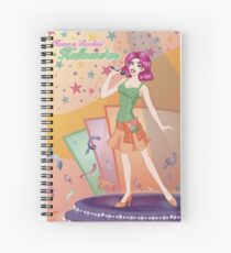 Rockin' Hallowe'en Spiral Notebook
