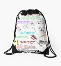 Buffy The Vampire Slayer Collage Drawstring Bag
