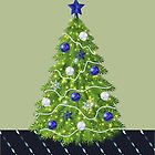 Christmas Card for Adult Son by Rosalie Scanlon