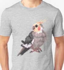 Pixel Cockatiel Test T-Shirt