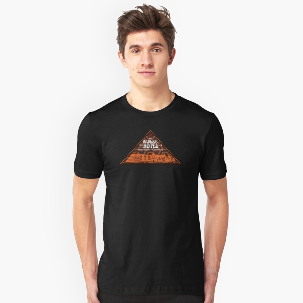 The Overlook Hotel Slim Fit T-Shirt