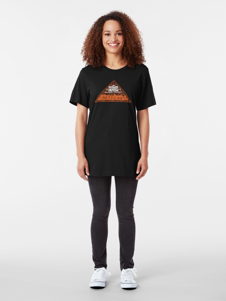 Alternate view of The Overlook Hotel Slim Fit T-Shirt
