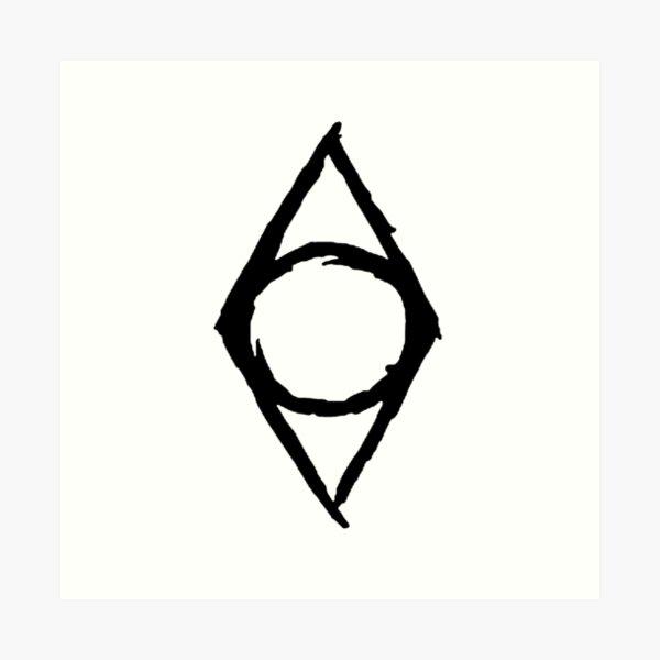 Guild Shadowmark-Skyrim Art Print
