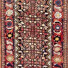 Malayer Antique Hamadan Persian Rug   by Vicky Brago-Mitchell