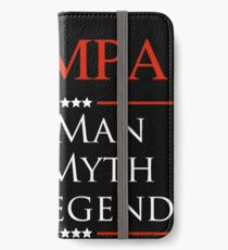 Wampa The Man The Myth The Legend Gift For Grandpa iPhone Wallet/Case/Skin