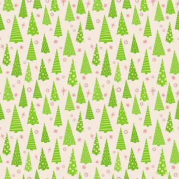 Christmas Tree Pattern by Gravityx9