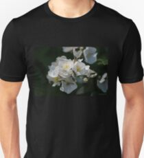 White Blossoms in the Light T-Shirt