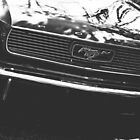 1966 Mustang - front end (2018) by Stephanie M. Aughenbaugh