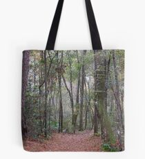 A Woods to Walk In Tote Bag