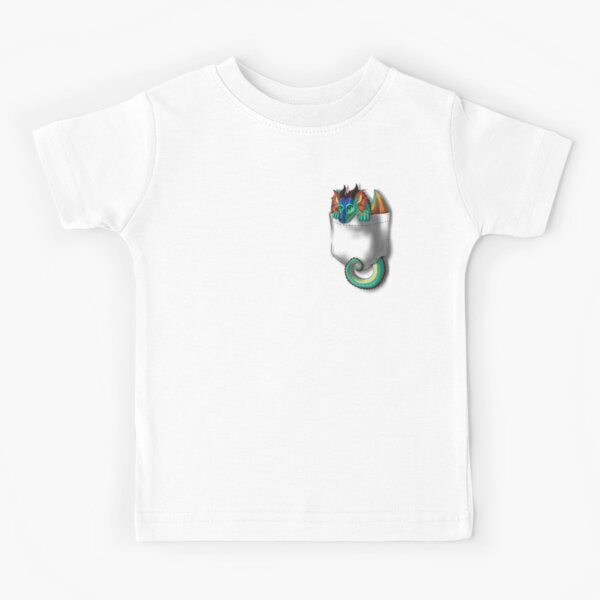 Wings of Fire - Pocket Glory Dragon Kids T-Shirt