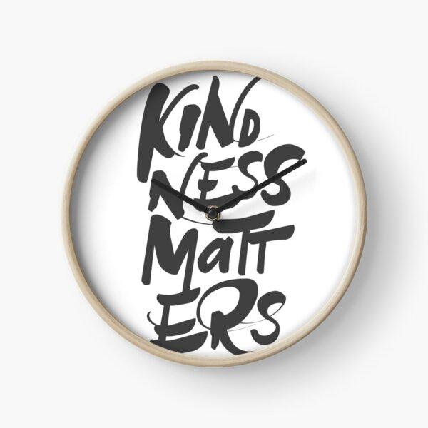 Kindness Matters Clock