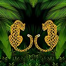 Jungle Exotic Tropical | Pattern Art by CarlosV