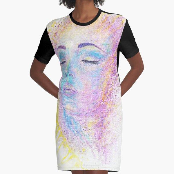 Di Sole e D'azzuro (Of Sun and Blue) Graphic T-Shirt Dress