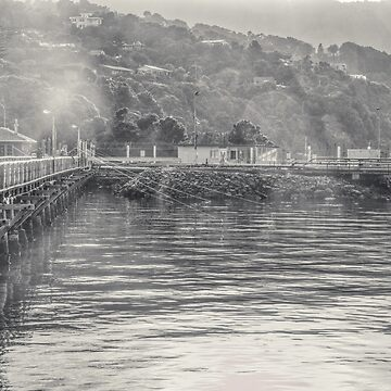 Wharf Fishing by urbanfragments