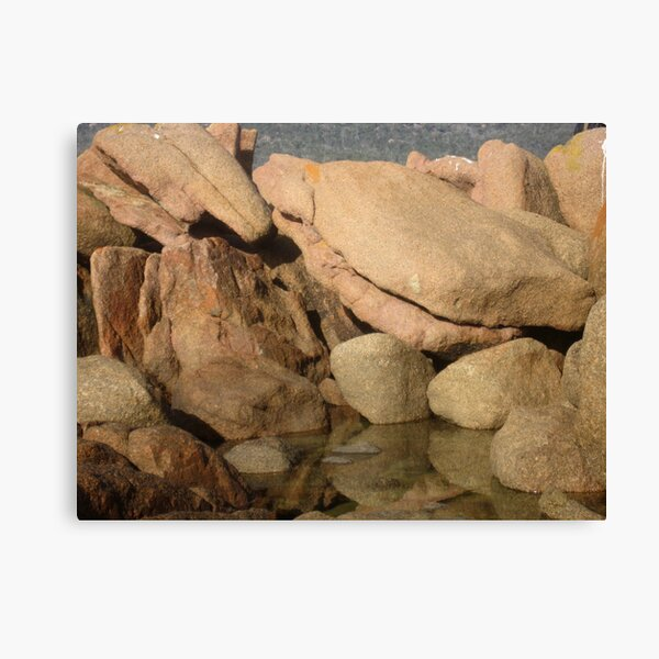 ROCKS COLES BAY Canvas Print