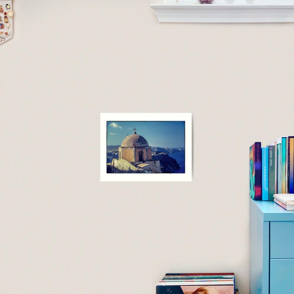 Island of Churches Art Print