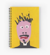 The priest Spiral Notebook